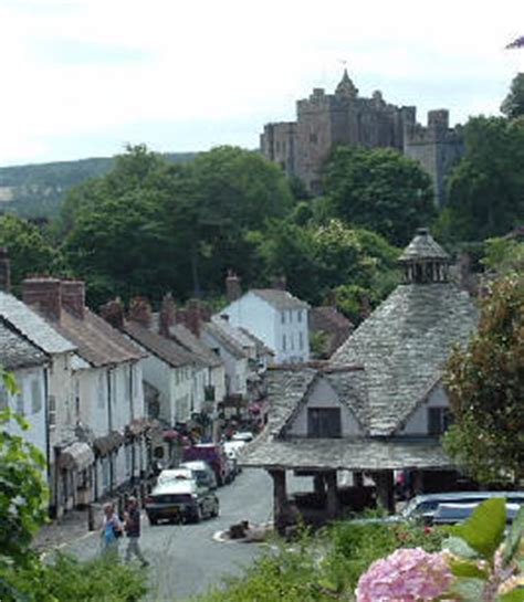 Somerset Coastal Cottages by The History Of Dunster Somerset