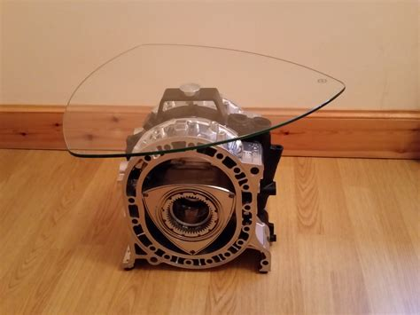 rotary engine coffee table silverstone auctions