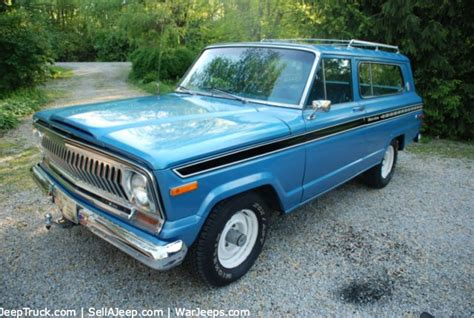 jeep cherokee chief blue used jeeps and jeep parts for sale 1975 jeep cherokee chief