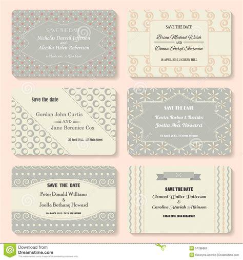 wedding banner patterns set of invitation templates vintage wedding day
