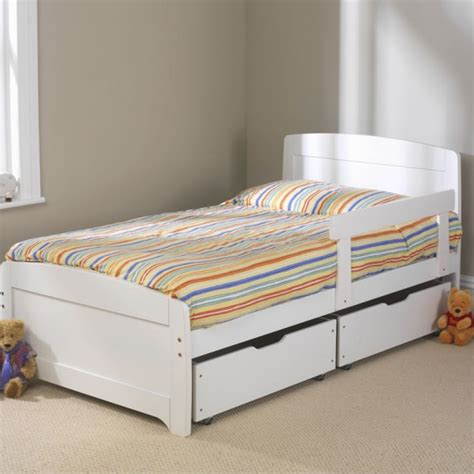 kids bed frames rainbow childrens white bed frame