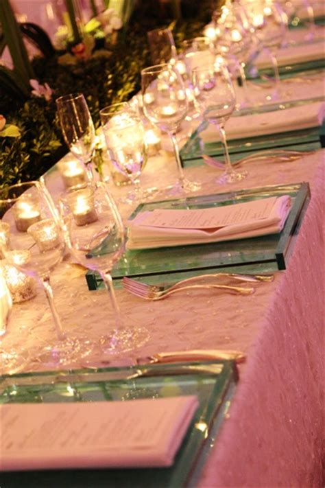Hiei D Glittery Days 17 best images about charger plates and table settings on