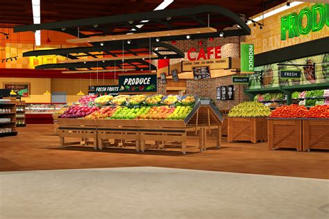 supermarket layout and marketing maxi foods supermarket design by i 5 design http www