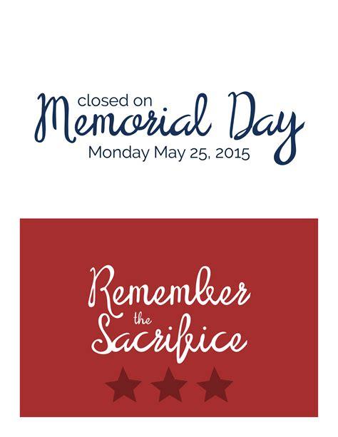 memorial day closing sign template 28 images patriotic closed