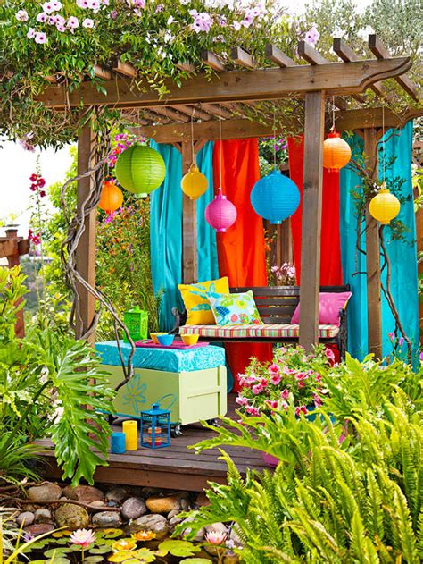 summer decor colorful outdoor decorating for summer 2013 sweet home dsgn