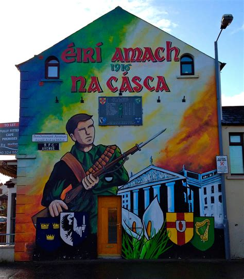 belfast wall murals sightseeing day trips across ireland and northern ireland