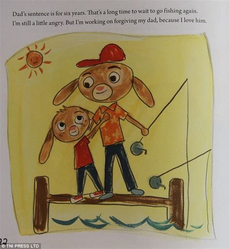 prison fathers parenting bars books the went to children s book explains what