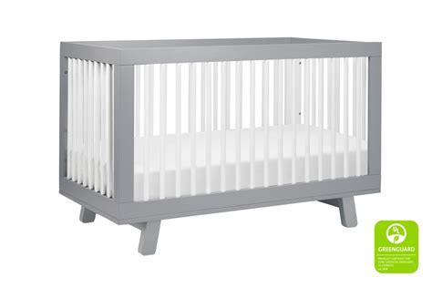 baby letto crib babyletto hudson 3 in 1 convertible crib grey and white