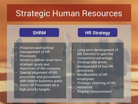 hr strategy hr strategy vs strategic hr management hr strategy