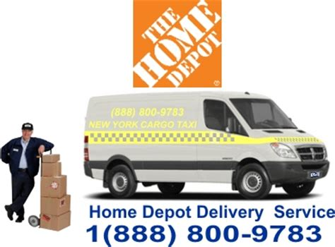 home depot delivery by www cargovanusa