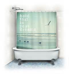 items similar to beach fabric shower curtain quot hold fast to