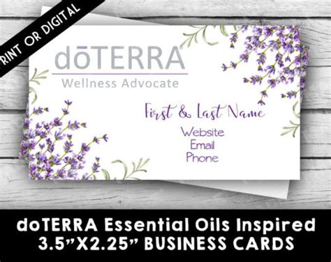 doterra business card template best 25 cards direct ideas on