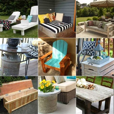 diy outdoor patio furniture 18 diy patio furniture ideas for an outdoor oasis
