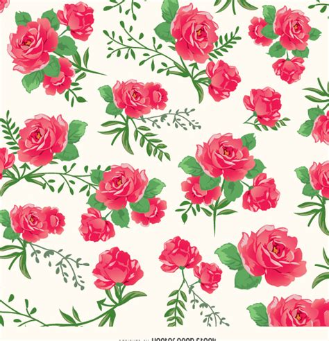 download pattern rose roses background pattern free vector download 337217