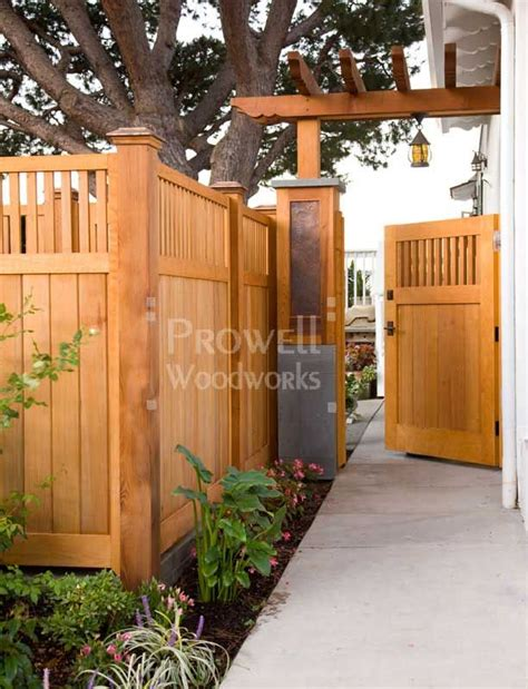 best 10 wood fences ideas on