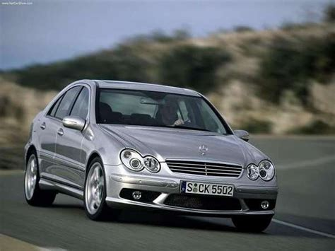 2005 mercedes c55 amg review top speed