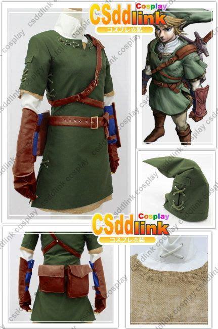 sewing pattern legend the legend of zelda zelda link cosplay costume by