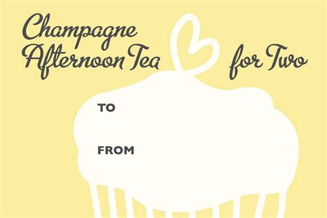 printable vouchers edinburgh chagne afternoon tea gift voucher afternoon tea
