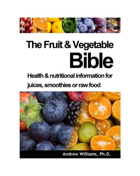 vegetables n the bible the fruit and vegetable bible