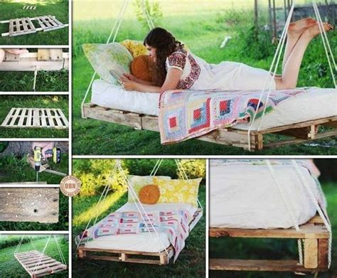 pallet porch swing instructions this diy pallet swing bed will be great for summer