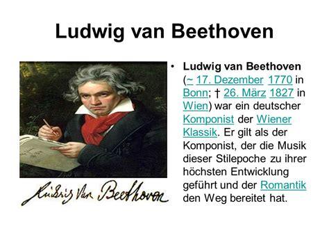 Ludwig Beethoven Ludwig Beethoven 17 Dezember