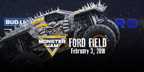 Join WRIF for Monster Jam at Ford Field