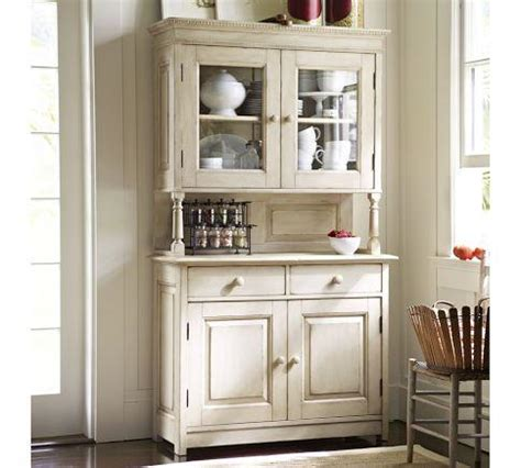 kitchen buffet and hutch furniture cameron buffet hutch pottery barn