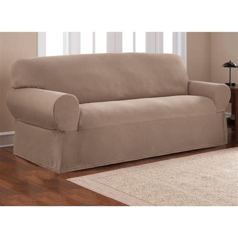 3 piece sofa slipcovers three piece sofa slipcover stretch suede 3 piece sofa
