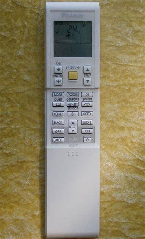 List Ac Daikin daikin air conditioner remote arc452a13 ebay