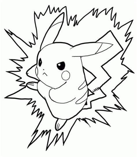 pikachu ex coloring pages kolorowanka pikachu 171 maluchy pl