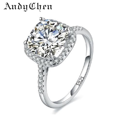 silver plated wedding ring aliexpress buy silver plated wedding rings for