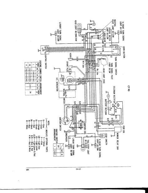 1972 honda ct90 wiring diagrams get free image about