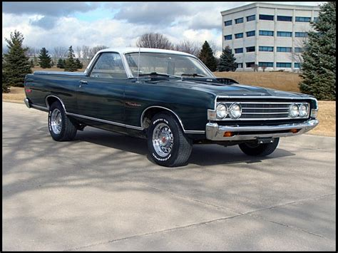 1969 Ford Ranchero by 1969 Ford Ranchero Photos Informations Articles