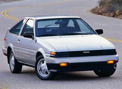 toyota corolla hatchback 1985 1985 toyota corolla gt s hatchback classic cars today