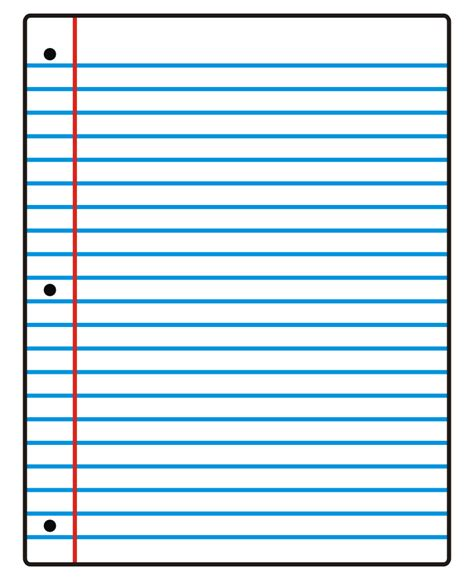 free clipart lined paper notebook paper clipart clipart panda free clipart images