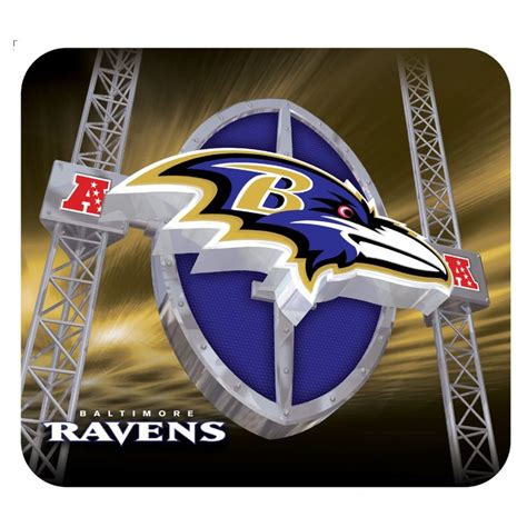 gifts for sports fans baltimore ravens mouse pad new football mousepad gifts