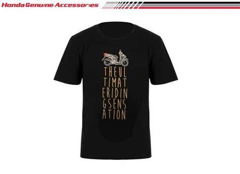 Kaos Motor Honda Vario 125 018502 vario turs t shirt black merchendise resmi kaos honda