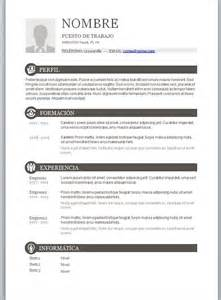 formatos de curriculum vitae 2014 modelos de curriculum vitae en word para completar