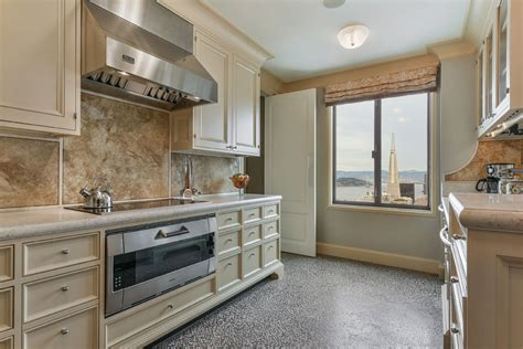 san franacisco nob hill highrise traditional kitchen the most expensive condo in nob hill sells for 6 85m