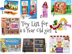Favorites and things christmas toy list for 4 5 year old girls