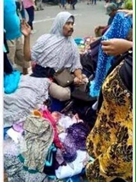 Jual Jilbab Tanah Abang bapak bapak kumisan jual jilbab di tanah abang bikin heboh