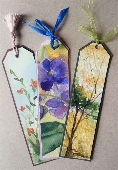 Handmade Bookmark Images - 25 best ideas about handmade bookmarks on diy
