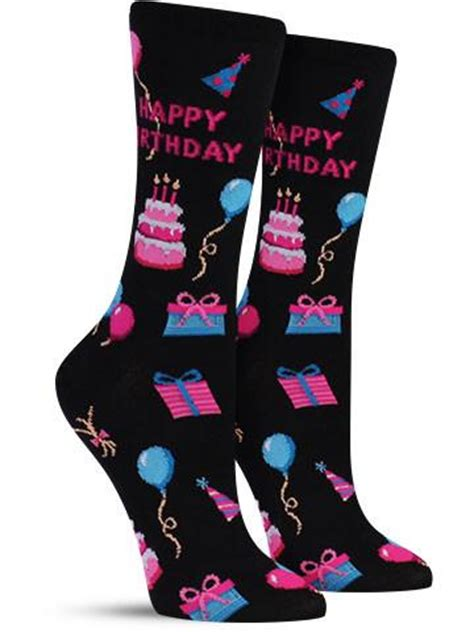 The Birthday Sock by Happy Birthday Awesome Novelty Socks For