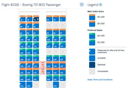 american airlines seating chart 737 american airlines changes seat configurations on b737 800