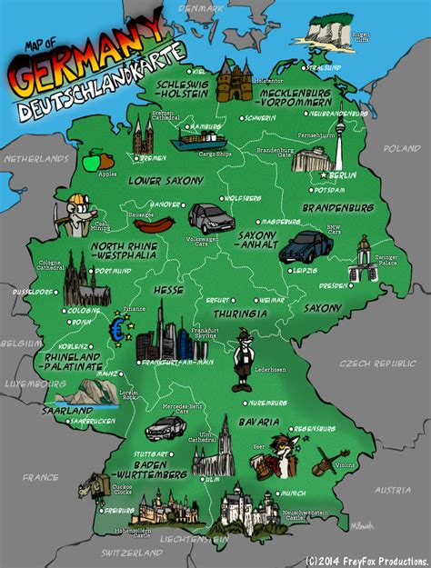 map of deutschland germany map of germany by keenyfox fur affinity dot net