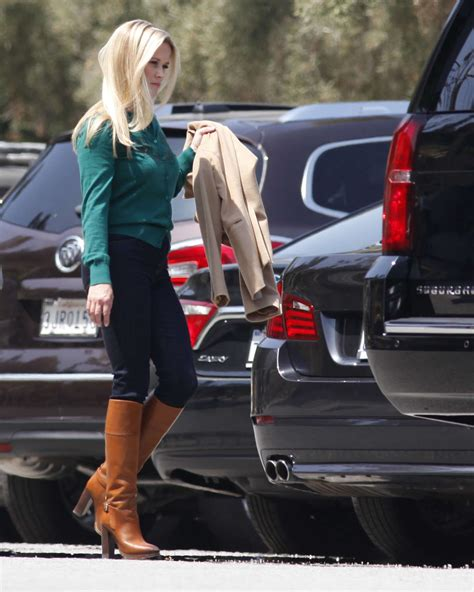 Reese Witherspoon With The Big Black Bay by Reese Witherspoon On The Set Of Big Lies In Los
