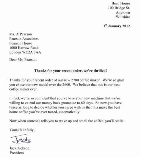 lettere d in inglese come scrivere una lettera commerciale in inglese