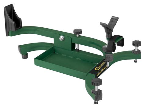 bench shooting rest caldwell lead sled solo rifle shooting rest mpn 101777