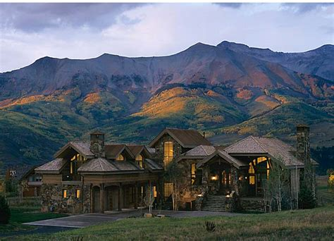 home in the mountains telluride colorado dream homes