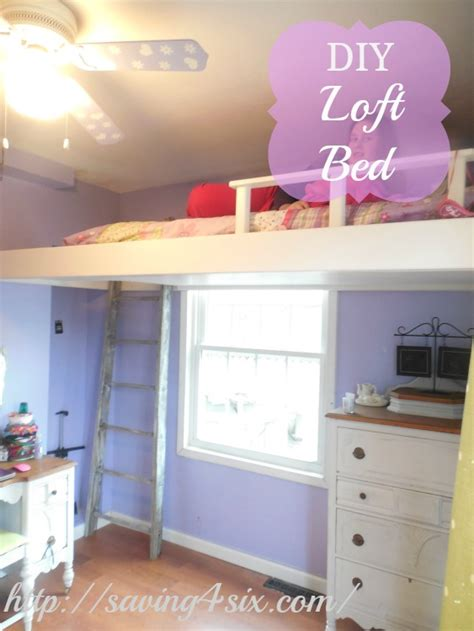 Diy Bedroom Loft by Space Saving Diy Loft Bed